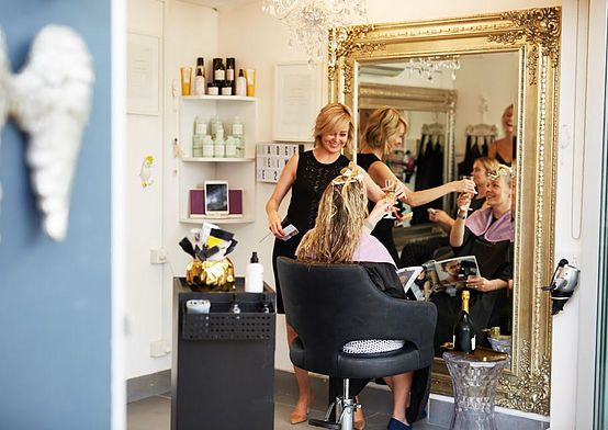 Balmain Rozelle Sydney Hairdresser - Hair Angel studio stylist salon: precision haircuts & the best balayage blonde colourist foils treatments; local hairdressers near CBD Birchgrove Glebe Drummoyne Lilyfield inner west suburbs NSW