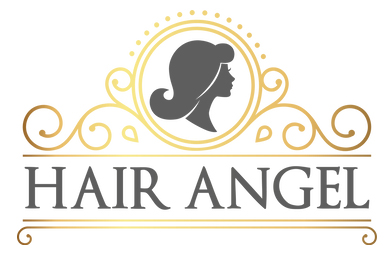 Hair Angel salon business logo: inner west Sydney hairdressers stylists specialists for precision haircuts, balayage, blonde colouring, colour correction. Balmain location, formerly Rozelle, suburbs near me Glebe Lilyfield Drummoyne Birchgrove