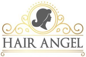 Hair Angel salon business logo: inner west Sydney hairdressers stylists specialists for precision haircuts, balayage, blonde colouring, colour correction. Balmain location, formerly Rozelle, suburbs near me Glebe Lilyfield Drummoyne Birchgrove.