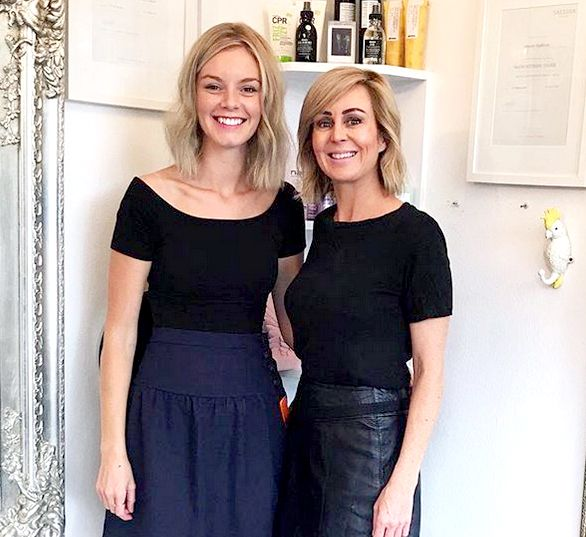 Sydney hairdressers Tearne & Deb Bradshaw. Hair Angel salon, Balmain studio, formerly Rozelle. Specialists for precisions haircuts, bridal styling, blonde hair, balayage & colouring. Location suburbs near me Glebe Lilyfield Drummoyne Birchgrove NSW Australia