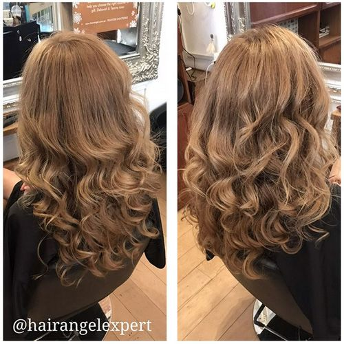 Before After photos inner Sydney hairdressers good top best hair salons studios redhead brown auburn brunette Hair Angel colourists specialists balayage precision haircuts bridal styling  client results reviews testimonials