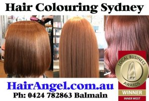 Sydney's Best Hair Colouring Hairdresser salon studio business in Balmain specialists in auburn red golden ginger hair tones haircuts services for women color corrections Birchgrove Drummoyne Strathfield Rozelle Glebe Ultimo
