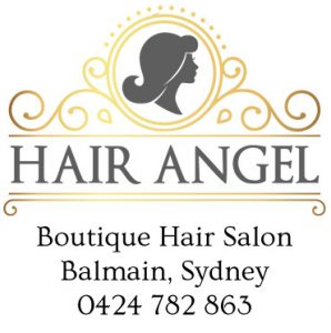 Balmain Sydney Hair Angel salon logo: hairdressers colourist stylist specialist precision haircuts balayage blonde colouring colour correction; nearby suburbs Rozelle Glebe Lilyfield Drummoyne Birchgrove